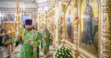Престольные торжества прошли в Александро-Невском соборе г. Ижевска