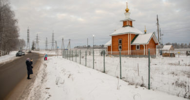 Освящение храма в с. Первомайский Завьяловского района