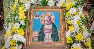 Престольный праздник храма прп. Серафима Саровского г. Ижевска