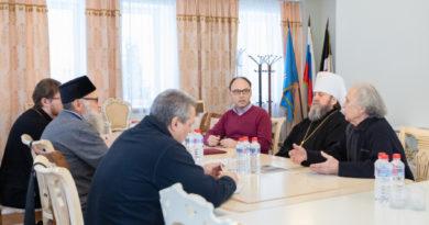 В епархиальном управлении прошло заседание комиссия Общественной палаты Удмуртии по вопросам культуры