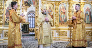 Служение архипастыря в Неделю Торжества Православия