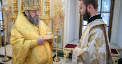 В Неделю 10-ю по Пятидесятнице митрополит Викторин совершил литургию и диаконскую хиротонию