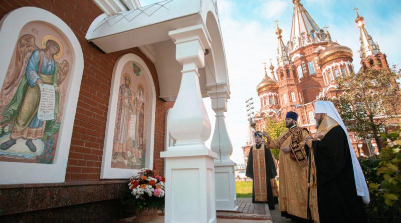Празднование памяти святых Петра и Февронии Муромских