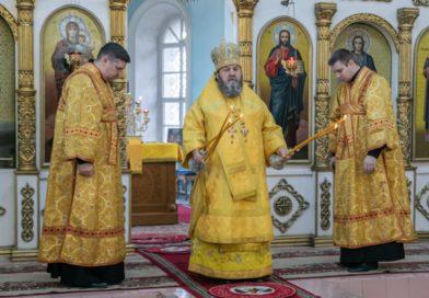 Митрополит Викторин посетил приход с. Июльское Воткинского района