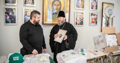 Ассоциация «Белый цветок» передала епархии реквизиты для проведения акции