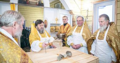 Состоялось освящение храма в п. Первомайский Воткинского района
