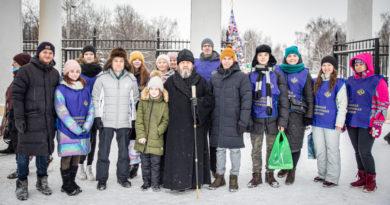 Представители епархии приняли участие в празднике в честь Дня студента