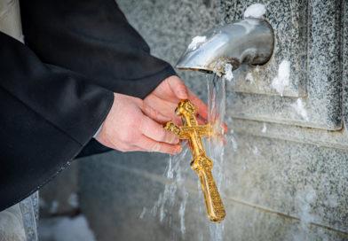 В Ижевске освятили воду на родниках