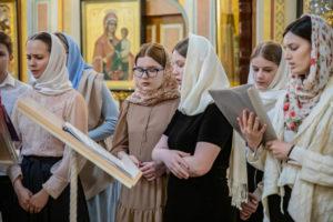 В кафедральном соборе состоялась молодежная литургия