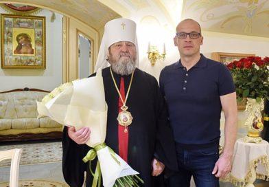 Митрополит Викторин принял поздравления с днем рождения от Главы Удмуртии